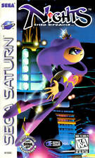 Nights Into Dreams Sega Saturn Great Condition Fast Shipping