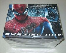 Amazing Spider-Man Amazing Box 2D/3D Blu-ray Steelbook w/Figurines Import