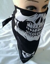 12 pcs Skull Jaw Bone Bandana Sport Face Masks Paintball Biker Scarf Head Wrap