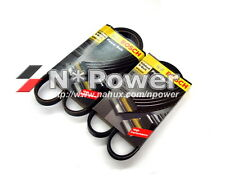 BOSCH DRIVE FAN BELT SET MITSUBISHI FTO OCT 94 - OCT 99 1.8 4CYL 16V 4G93