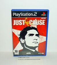 JEU PS2 COMPLET JUST CAUSE
