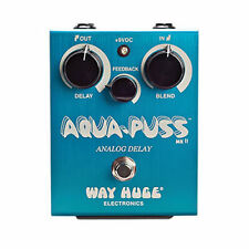 Way Huge Aqua-Puss MkII Analog Delay Effect Pedal WHE701 USED