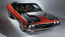 "Dodge Challenger Muscle Car  Mini Poster 13""x19"" HD"