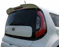 PAINTED SPOILER FOR A KIA SOUL FLUSH MOUNT FACTORY SPOILER 2014-2016