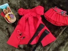 LITTLE RED RIDING HOOD BARBIE DOLL CLOTHING * PARTIAL * PERFECT!