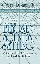 Communication and Information Science Ser.: Beyond Agenda Setting :...
