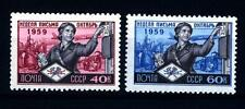 URSS - RUSSIA - 1959 - Settimana internazionale della lettera