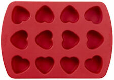 Valentine Hearts 12 Cavity Petite Silicone Mold from Wilton 0813 - NEW
