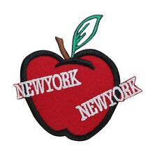 ID 1899 New York NY Big Apple Travel Souvenir Iron On Applique Patch