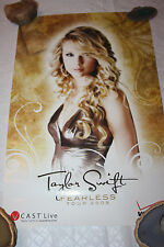 TAYLOR SWIFT 2009 PROMO FEARLESS TOUR POSTER BEAUTY