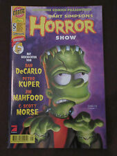 BART SIMPSONS HORROR SHOW # 5 - DINO VERLAG 2001 - TOP