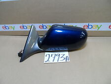 1998 - 2003 Jaguar XJ8 DRIVER side Mirror Used Power Blue & Gray Color #2793-A