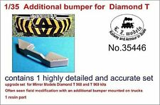 LZ MODELS ADDITIONAL BUMPER FOR DIAMOND T968/969 Scala 1/35 Cod.35446