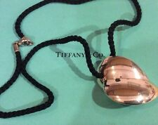 Tiffany & Co. Frank Gehry X Large Double Heart Leaf 925 Sterling Silver Necklace
