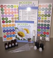 219 Piece Essential Oil Roll On Vials Lot doTERRA Labels Modern Essentials Guide