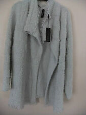 MARC CAIN CARDIGAN JACKET SILVER  SIZE  4 NEW WITH TAGS