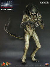 "Hot Toys 12"" AVP: ALIEN VS PREDATOR REQUIEM MMS55 Predalien BIB Great Con CHEAP"