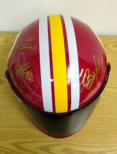 SIMPSON WASHINGTON REDSKINS TONY STEWART JOE GIBBS BOBBY LABONTE HELMET