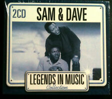 LEGENDS IN MUSIC COLLECTION - SAM & DAVE - 2 CD NEUF -