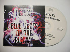 "BELL X1 : BLUE LIGHTS ON THE RUNWAY ""THE GREAT DEFECTOR"" ♦ CD SINGLE ♦"