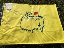 2016 Masters Pin Flag From Augusta National Golf Club Embroidered Free Shipping