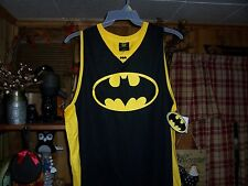 BATMAN MENS TANK TOP T SHIRT SIZE LARGE 42-44 MENS SUPER HERO CLOTHING SUMMER