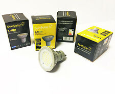4 x 3w LED GU10 SMD High Power Spot Light Energy Saving Bulbs Warm White 3000k