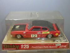 "DINKY TOYS ""LARGE SCALE"" MODEL No.2214 FORD CAPRI  "" RALLY SPECIAL "" SALOON  MIB"