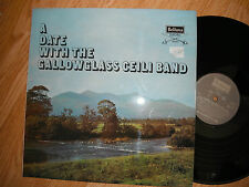 A DATE WITH GALLOWGLASS CEILI BAND RARE IRISH FOLK LP 1971 EXC