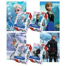 Trefl Mini 4 x 54 Pieces Kids Girls Disney Frozen Anna Elsa Olaf Jigsaw Puzzle