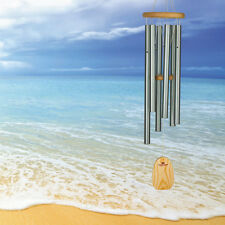 New WOODSTOCK Wind Chimes Seascapes Chimes Seafoam Island Sounds LARGE