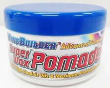 WAVE BUILDER SUPER WAX POMADE EXTRA HOLDING POWER FOR HARD TO WAVE HAIR 3.5oz