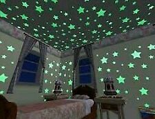2 pkts Night Glow Star Galaxy for kids bedroom ceiling