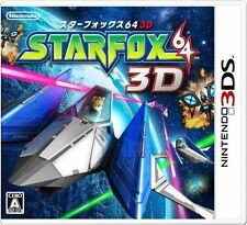 Star Fox 64 3D (Nintendo 3DS, 2011) Complete In Box! Fast Ship! Tested!