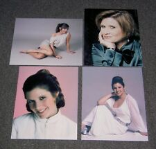 SET OF FOUR STAR WARS 10 x 8 PHOTO'S,BARGAIN LOT,PRINCESS LEIA ORGANA.17