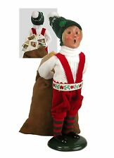 Byers Choice Christmas ELF Signed JB Open House Exclusive Santa's Helper So Cute