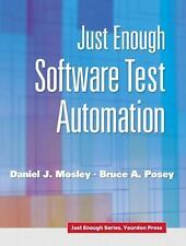 Just Enough Software Test Automation (Yourdon Press Series)-ExLibrary