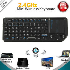 NEW For Android TV BOX PC Wireless Keyboard Air Mouse Remote Control Touchpad