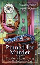 Pinned for Murder (Southern Sewing Circle Mysteries)