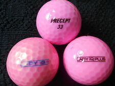 "20  PRECEPT ""LADY IQ PLUS AND IQ+"" - ""PINK PEARLISED"" -Golf  Balls- ""A"" Grade."