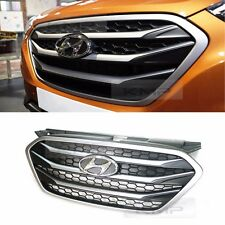 OEM Parts Chrome Front Radiator Hood Grill For HYUNDAI 2010-2015 Tucson ix ix35