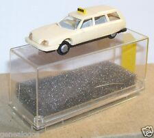 MICRO PRALINE HO 1/87 CITROEN CX BREAK CREME TAXI in box