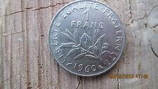 UNE PIECE de 1 FRANC 1960