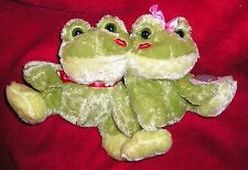 Dan Dee Sweet Thoughts Couple Valentine Frogs EarthRite Soft Fiber NWT New