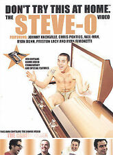 The Steve-O Video: Don't Try This At Home (DVD, 2002) - C0424