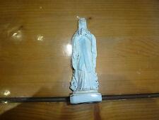 Ancienne figurine / statue religieuse en céramique, vierge Marie, Bianchi