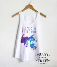 EXPECTO PATRONUM GALAXY SHIRT HARRY POTTER TANK TOP MAGIC SPELL CLOTHING
