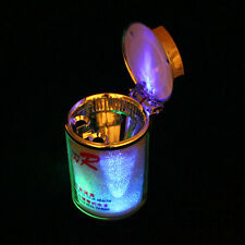 LED Lights Ashtray Ash Tray Cigarette Cylinder Hold Cup for Auto Car Home Office