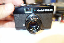 Rollei 35 LED black film camera Triotar 40/3.5 Singapore strap please read