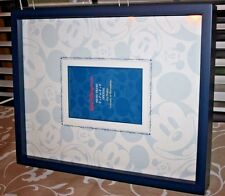 """NOS Walt Disney World MICKEY MOUSE 12""""x15"""" Photo Frame for 5x7 or 4x6 Picture"""